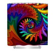 Quite Different Colors -17- Shower Curtain