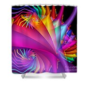 Quite In Different Colors -1- Shower Curtain
