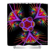 Quite In Different Colors -2- Shower Curtain