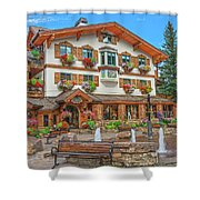 Quite Possibly The Most Expensive And Luxurious Ski Resort In The World, Vail, Colorado  Shower Curtain
