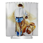 Quittin Time Shower Curtain