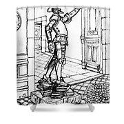 Quixote Museum Shower Curtain