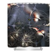 Quixotic Cerebrations Shower Curtain