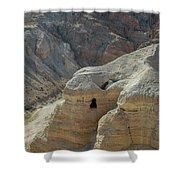 Qumran Cave Shower Curtain