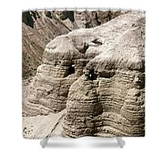 Qumran: Dead Seal Scrolls Shower Curtain