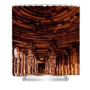 Qutub Minar Shower Curtain