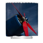 R-propeller Shower Curtain