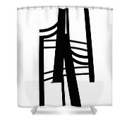 R1p-8 Shower Curtain