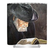 Rabbi Shower Curtain