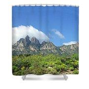 Organ Mountains Rabbit Ears Shower Curtain