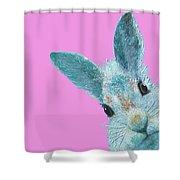 Rabbit Eyes Shower Curtain