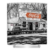 Rabbit Hash Store-front View Sc Shower Curtain