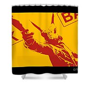 Rabbit Heist Shower Curtain