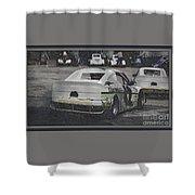 Race Cars Shower Curtain