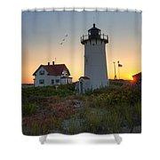 Race Point Lighthouse 2015 Shower Curtain