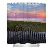 Race Point Sunset Cape Cod 2015 Shower Curtain