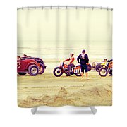 Race Time Shower Curtain