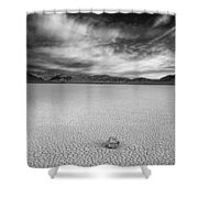 Race Track Valley Shower Curtain