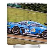 Race Vantage Shower Curtain