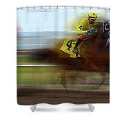 Racetrack Dreams 1 Shower Curtain