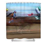 Racetrack Dreams 2 Shower Curtain