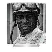 Racetrack Heroes 2 Shower Curtain