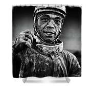 Racetrack Heroes 5 Shower Curtain