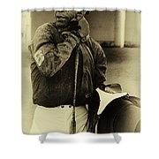 Racetrack Heroes 6 Shower Curtain