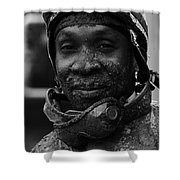 Racetrack Heroes 8 Shower Curtain