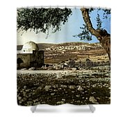 Rachel Tomb In Bethlehem Shower Curtain