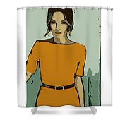Rachelle Shower Curtain