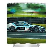 Racing Car Shower Curtain
