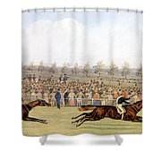 Racing Scene Shower Curtain