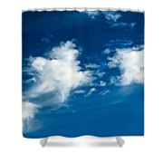 Racing Star Shower Curtain
