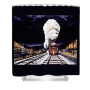 Racing The Storm Shower Curtain