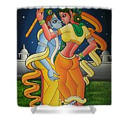 Radakrishna Shower Curtain
