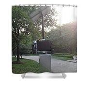 Radar Camera Shower Curtain