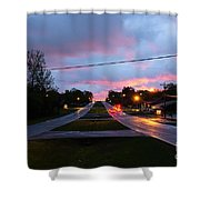 Radcliff Kentucky Morning Shower Curtain