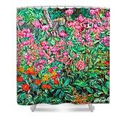 Radford Flower Garden Shower Curtain