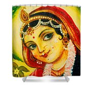 Radha - The Indian Love Goddess Shower Curtain