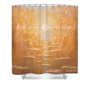 Radiance  Shower Curtain by Simon Cook