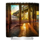 Radiant Rays Shower Curtain