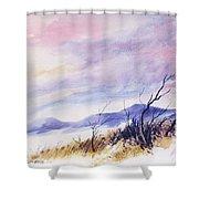Radiant Sky Shower Curtain