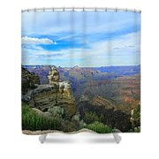 Radiant View Shower Curtain