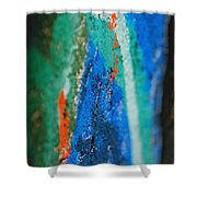Radiating Colors Shower Curtain