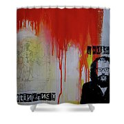 Radical Contingency Shower Curtain