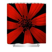 Radical Red Shower Curtain