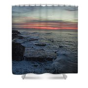 Radical Rockview Shower Curtain