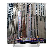 Radio City Music Hall New York City Shower Curtain