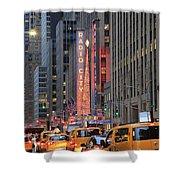 Radio City Music Hall New York Shower Curtain